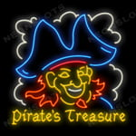 Логотип слота Pirates Treasure