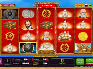 Игровое поле  7 Days Spanish Armada
