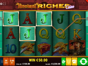 Выигрыш Ancient Riches Casino