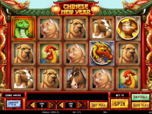 Игровое поле Chinese New Year