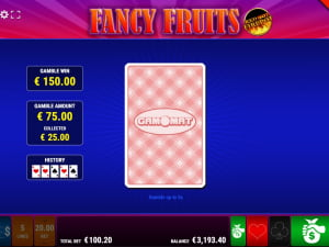 Риск-игра Fancy Fruits Red Hot Firepot