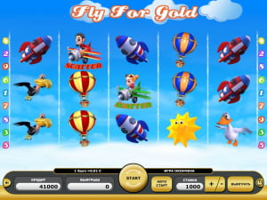 Игровое поле Fly for Gold