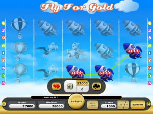 Риск-игра Fly for Gold