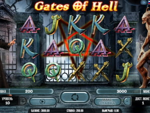Игровое поле Gates of Hell