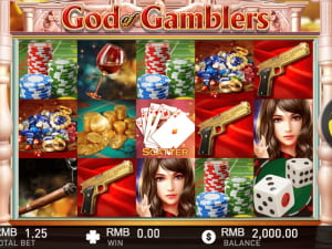 Игровое поле God of Gamblers