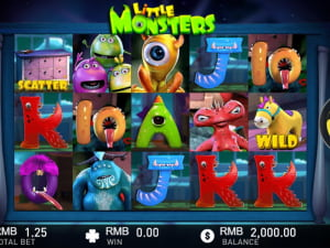 Игровое поле Little Monsters