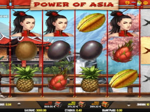 Игровое поле Power of Asia
