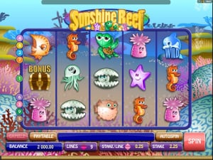 Игровое поле Sunshine Reef