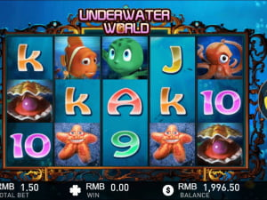 Игровое поле Underwater World