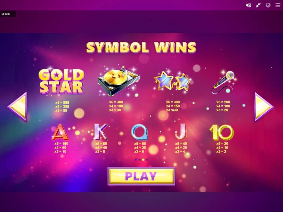 Gold star золотая звезда игровой автомат виды ставок лайв