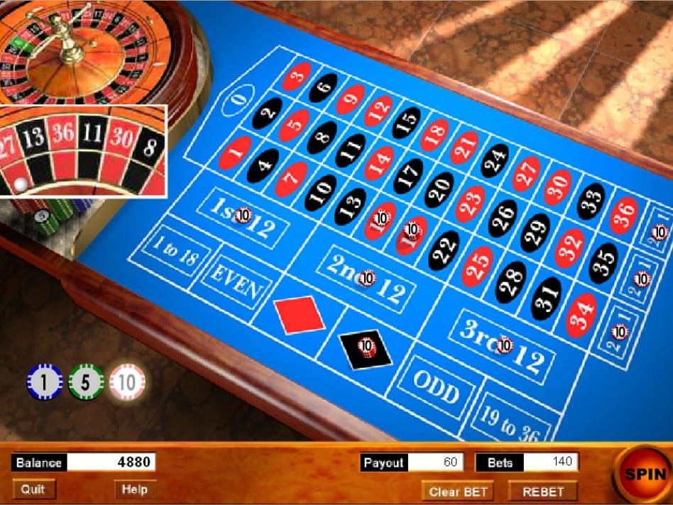 рулетка американская играть онлайн бесплатно